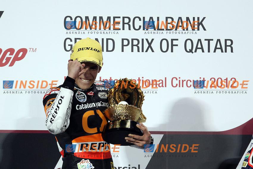Marc Marquez - Catalunya Caixa Repsol.08-04-2012 Doha (QAT).Moto2 - moto. .Motomondiale Gp Qatar.Foto Semedia/Insidefoto