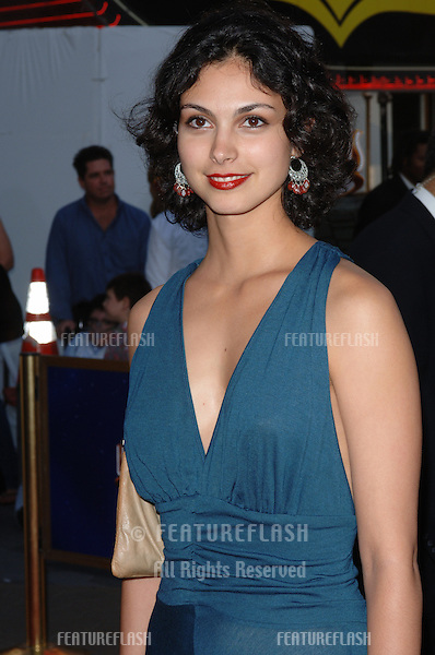Actress MORENA BACCARIN at the world premiere of The Perfect Man, at Universal Studios, Hollywood..June 12, 2005 Los Angeles, CA.© 2005 Paul Smith / Featureflash