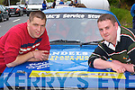 Competing in the Rally of the Lakes over the weekend was Johnny Fitzgerald (left) and Niall Lynch Kenmare    Copyright Kerry's Eye 2008