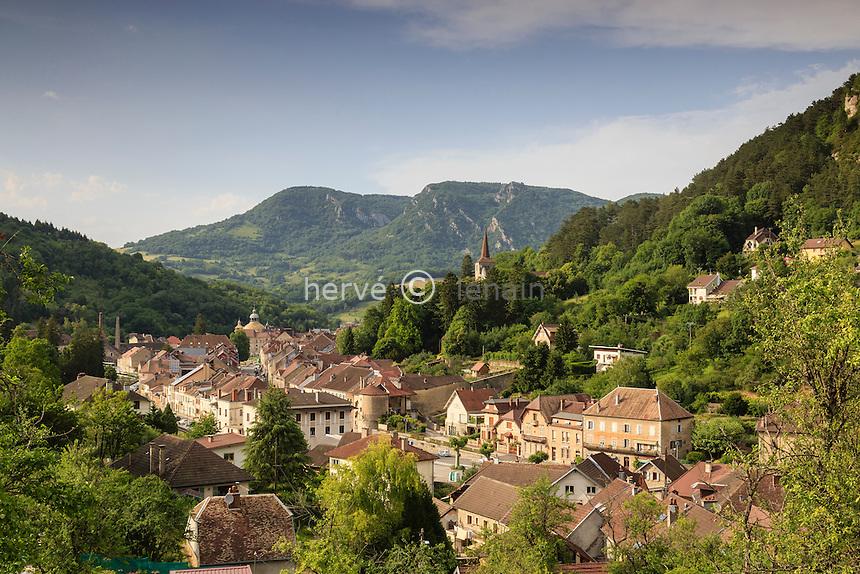 France, Jura (39), Salins-les-Bains  // France, Jura, Salins les Bains