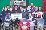 Bikers who gathered at Tomaisins bar Lisselton to launch the Farewll Rally in memory of James Griffin,  which will take place on Saturday Dec 6th. The proceeds of the rally will go to Crumlin Hospital Dublin.   Copyright Kerry's Eye 2008