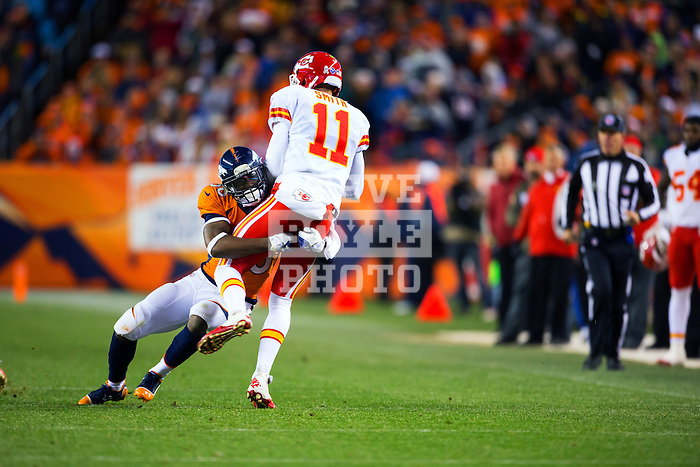 Kansas City Chiefs at Sports Authority Field at Mile High Stadium in Denver Colorado for a game against the Denver Broncos on November 17, 2013.<br />