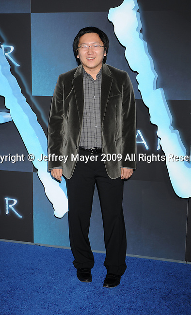 """HOLLYWOOD, CA. - December 16: Masi Oka attends the Los Angeles premiere of """"Avatar"""" at Grauman's Chinese Theatre on December 16, 2009 in Hollywood, California."""