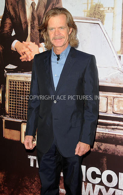 WWW.ACEPIXS.COM . . . . . ....March 10 2011, Los Angeles....William H. Macy arriving at the 'The Lincoln Lawyer' Los Angeles screening at the ArcLight Cinemas on March 10, 2011 in Hollywood, CA.....Please byline: PETER WEST - ACEPIXS.COM....Ace Pictures, Inc:  ..(212) 243-8787 or (646) 679 0430..e-mail: picturedesk@acepixs.com..web: http://www.acepixs.com