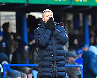Doncaster Rovers Manager Grant McCann rues a missed chance during Portsmouth vs Doncaster Rovers, Sky Bet EFL League 1 Football at Fratton Park on 2nd February 2019