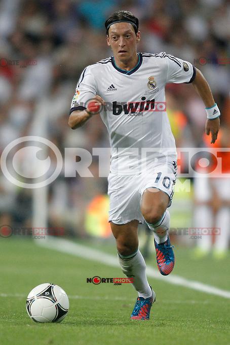 Real Madrid's  &Ouml;zil during Super Copa of Spain on Agost 29th 2012...Photo:  (ALTERPHOTOS/Ricky) Super Cup match. August 29, 2012. <br />  (foto:ALTERPHOTOS/NortePhoto.com<br /> <br /> **CREDITO*OBLIGATORIO** <br /> *No*Venta*A*Terceros*<br /> *No*Sale*So*third*<br /> *** No*Se*Permite*Hacer*Archivo**<br /> *No*Sale*So*third*