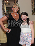 Geraldine McDowell celebrating her 40th birthday in The d hotel with her daughter Kiva. Photo:Colin Bell/pressphotos.ie