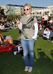 "Kristen Bell  at The Invisible Children's ""THE RESCUE"" Rally at City Hall in Santa Monica, California on April 25,2009                                                                     Copyright 2009 DVS / RockinExposures"