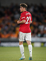 Daniel James of Man Utd during the Premier League match between Wolverhampton Wanderers and Manchester United at Molineux, Wolverhampton, England on 19 August 2019. Photo by Andy Rowland.