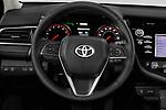 Car pictures of steering wheel view of a 2018 Toyota Camry XSE 4 Door Sedan Steering Wheel