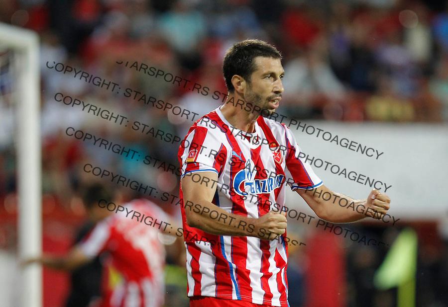 Fudbal Super liga season 2013-2014<br /> Napredak v Crvena Zvezda <br /> Nikola Mijailovic reacts<br /> Krusevac, 24.08.2013.<br /> foto: Srdjan Stevanovic/Starsportphoto &copy;