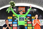 Daryl Impey (RSA) Mitchelton-Scott retains the points Maillot Vert at the end of Stage 3 of the 2018 Criterium du Dauphine 2018 a Team Time Trial running 35km from Pont de Vaux to Louhans Chateaurenaud, France. 6th June 2018.<br /> Picture: ASO/Alex Broadway | Cyclefile<br /> <br /> <br /> All photos usage must carry mandatory copyright credit (&copy; Cyclefile | ASO/Alex Broadway)