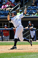 Staten Island Yankees outfielder Cody Grice #48 during a game against the State College Spikes at Richmond County Bank Ballpark at St. George on July 14, 2011 in Staten Island, NY.  Staten Island defeated State College 6-4.  Tomasso DeRosa/Four Seam Images