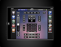 Crestron In-Wall Touch Panel