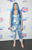 Mabel (Mabel Alabama Pearl McVey) at the Capital FM Summertime Ball 2019, Wembley Stadium, Wembley, London, England, UK, on Saturday 08th June 2019.<br /> CAP/CAN<br /> ©CAN/Capital Pictures