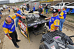 Sep 9, 2011; 11:31:08 AM; Rossburg, OH., USA; The 41st annual running of the World 100 Dirt Late Models racing for the Globe trophy at the Eldora Speedway.  Mandatory Credit: (thesportswire.net)
