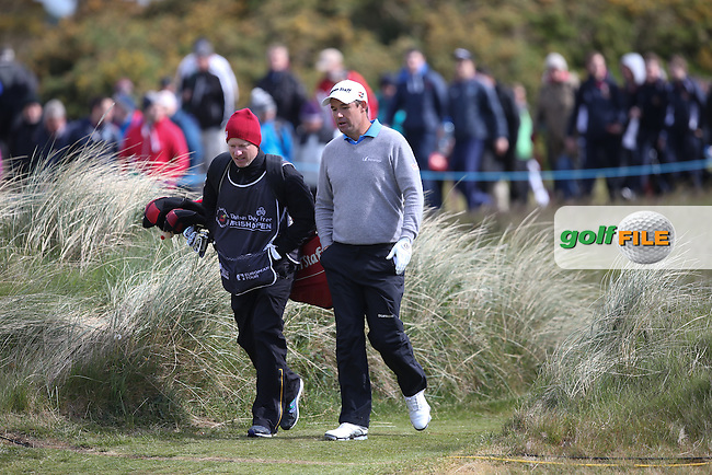 Padraig Harrington (IRL) failed to extend his overnight lead during Round Two of the 2015 Dubai Duty Free Irish Open Hosted by The Rory Foundation at Royal County Down Golf Club, Newcastle County Down, Northern Ireland. 29/05/2015. Picture David Lloyd | www.golffile.ie