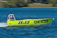 "JS-13 ""Geico/Darby's Rapture"" (Jersey Speed Skiff)"