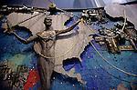 Man and Machine visual art sculpture