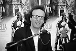 Italian actor, comedian, screenwriter and director Roberto Benigni,  (born 27 October 1952). Photo by Quique Kierszenbaum