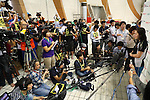 Mei Ichinose,<br /> MARCH 6, 2016 - Swimming :<br /> Dispatch player selection meeting for Rio de Janeiro Paralympic<br /> in Fuji city, Shizuoka, Japan.<br /> (Photo by Shingo Ito/AFLO SPORT)