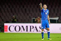 Leonardo Bonucci Italia <br /> Napoli 15-10-2013 Stadio San Paolo <br /> Football Calcio Fifa World Cup 2014 Qualifiers <br /> Europe Group B <br /> Italia - Armenia <br /> Italy - Armenia <br /> Foto Andrea Staccioli Insidefoto