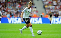 Kim Kulig of Germany during the FIFA Women's World Cup at the FIFA Stadium in Berlin, Germany on June 26th, 2011.