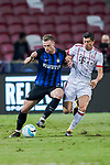 FC Internazionale Defender Milan Skriniar (L) plays against Bayern Munich Forward Robert Lewandowski (R) during the International Champions Cup match between FC Bayern and FC Internazionale at National Stadium on July 27, 2017 in Singapore. Photo by Marcio Rodrigo Machado / Power Sport Images