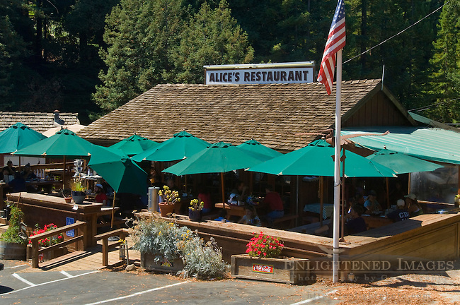 Alice's Restaurant, Skylonda, San Mateo County, California