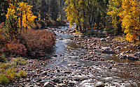 After a record snow year, the Truckee River is still flowing strong. As of mid October, Lake Tahoe is five feet over its rim and one foot below its maximum storage.