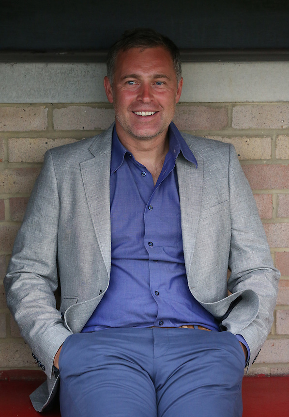 Dagenham and Redbridge's Manager Wayne Burnett<br /> Photographer Kieran Galvin/CameraSport<br /> <br /> Football - Pre-Season Friendly - Dagenham &amp; Redbridge v Crystal Palace Monday 3rd August 2015 - Victoria Road Stadium - Dagenham<br /> <br /> &copy; CameraSport - 43 Linden Ave. Countesthorpe. Leicester. England. LE8 5PG - Tel: +44 (0) 116 277 4147 - admin@camerasport.com - www.camerasport.com