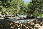 I giardini di largo Sempione in barriera di milano. Maggio 2012