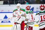 S&ouml;dert&auml;lje 2013-12-12 Ishockey Hockeyallsvenskan S&ouml;dert&auml;lje SK - Mora IK :  <br /> Mora m&aring;lvakt 35 Mantas Armalis deppar efter matchen<br /> (Foto: Kenta J&ouml;nsson) Nyckelord:  depp besviken besvikelse sorg ledsen deppig nedst&auml;md uppgiven sad disappointment disappointed dejected