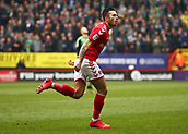 24th March 2018, The Valley, London, England;  English Football League One, Charlton Athletic versus Plymouth Argyle; Lewis Page of Charlton Athletic celebrates after scoring his sides 1st goal in the 3rd minute to make it 1-0