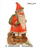 GIORDANO, CHRISTMAS SANTA, SNOWMAN, WEIHNACHTSMÄNNER, SCHNEEMÄNNER, PAPÁ NOEL, MUÑECOS DE NIEVE, nostalgic, paintings+++++,USGI919,#X# nostalgic,vintage