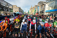 Picture by Allan McKenzie/SWpix.com - 17/05/2018 - Cycling - OVO Energy Tour Series Mens Race Round 3:Aberdeen - The mens race prepares to roll out.