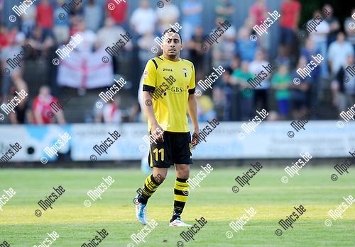 2013-07-09 / Voetbal / seizoen 2013-2014 / Berchem Sport - R. Antwerp FC / Brahim Boujouh<br /><br />Foto: Mpics.be