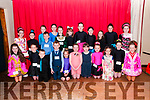 Lixnaw Feile: Dancers in the under 7-9 & 8-10 Classes who took part in the dancing competitions at the Lixnaw Feile at the Ceolan Centre, Lixnaw on Saturday last.
