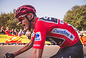September 7th 2017, Santo Toribio de Liebana, Spain; Cycling, Vuelta a Espana Stage 18; Chris Froome climbs a hill