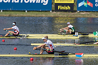 Sarasota. Florida USA.  USA W1X. Felice MUELLER, Semi Final A/B. 2017 World Rowing Championships, Nathan Benderson Park<br /> <br /> Friday  29.09.17   <br /> <br /> [Mandatory Credit. Peter SPURRIER/Intersport Images].<br /> <br /> <br /> NIKON CORPORATION -  NIKON D500  lens  VR 500mm f/4G IF-ED mm. 200 ISO 1/640/sec. f 7.1 ISO 1/1250/sec. f 7.1