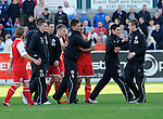 Stirling Abion celebrate at the end