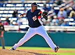 4 March 2009: Washington Nationals' pitcher Jesus Colome on the mound during a Spring Training game against the New York Mets at Space Coast Stadium in Viera, Florida. The Nationals rallied to defeat the Mets 6-4 . Mandatory Photo Credit: Ed Wolfstein Photo