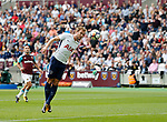 Tottenham's Harry Kane scoring his sides opening goal during the premier league match at the London Stadium, London. Picture date 23rd September 2017. Picture credit should read: David Klein/Sportimage