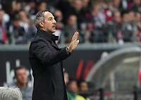 Trainer Adi Hütter (Eintracht Frankfurt) - 18.10.2019: Eintracht Frankfurt vs. Bayer 04 Leverkusen, Commerzbank Arena, <br /> DISCLAIMER: DFL regulations prohibit any use of photographs as image sequences and/or quasi-video.