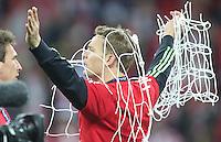 LONDRES; INGLATERRA; 25 DE MAIO 2013 - LIGA DOS CAMPEOES DA EUROPA BAYERN DE MUNIQUE X BORUSSIA DORTMUND - Manuel Neuer jogador do Bayern de Munique comemoram conquista da Liga dos Campeões da Europa apos vencer por 2 a 1 o Borussia Dortmund no Estádio de Wembley em Londres na Inglaterra; neste sábado; 25. (FOTO: PIXATHLON / BRAZIL PHOTO PRESS).