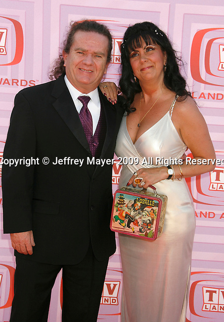 UNIVERSAL CITY, CA. - April 19: Butch Patrick and guest arrive at the 2009 TV Land Awards at the Gibson Amphitheatre on April 19, 2009 in Universal City, California.