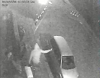 "Pictured: CCTV image released by South Wales Police showing Awez Jamshiad and Saif Shazhad are seen walking down Holmesdale Street moments later Dan Roberts leaps over a pillar and attacks Malaciah Thomas who is sat in the Silver Fusion vehicle.<br /> Malaciah is observed running away from vehicle and is pursued by Dan Roberts and Christopher Griffiths, he is followed by Saif Shazhad. A short time later the Audi A3 travelling in direction of Corporation Road.<br /> Re: Earlier this week Christopher Griffiths and Awez Jamshaid were convicted of murdering Malaciah Thomas and Saif Shahzad was found guilty of manslaughter.<br /> A fourth man, Daniel Roberts, admitted murder partway through the trial.<br /> Today, all four were sentenced at Cardiff Crown Court:<br /> Daniel Roberts, Christopher Griffiths, and Awez Jamshaid, were all sentenced to life imprisonment.<br /> Roberts, 20, and Griffiths, 30, must serve a minimum of 25 years, while 19-year-old Jamshaid will serve at least 11 years.<br /> Shahzad, 19, was sentenced to 7 years 6 months in a Young Offenders Institution.<br /> Just before 2am on Monday, July 23 2018, officers were called to reports of a serious assault in the front garden of a house in Corporation Road, Grangetown.<br /> Malaciah Thomas 20, suffered multiple stab wounds and died at the scene.<br /> Speaking after the sentencing at Cardiff Crown Court, Senior Investigating Officer Detective Chief Inspector Gareth Morgan said: ""Malaciah Thomas was stabbed to death just two days before his 21st birthday and our thoughts are with his family and friends.<br />  ""This tragic case sadly highlights the devastating and far-reaching consequences of knife crime.<br />  ""Knife crime has risen across the UK and unfortunately we are not an exception to that.<br />  ""During the early hours of Monday, July 23rd 2018 four young men left an address in Roath and drove to Grangetown.<br />  ""Two of them were armed with knives - all four knew the objective was to attack Malaciah.<br />  ""Following a thorough investigation and trial at Cardiff Crown Court,"