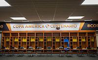Photo before the match Mexico vs Jamaica Corresponding to  Group -C- of the America Cup Centenary 2016 at Rose Bowl Stadium.<br /> <br /> Foto previo al partido Mexico vs Jamaica, Correspondiente al Grupo -C- de la Copa America Centenario 2016 en el Estadio Rose Bowl, en la foto: Vestidor de Jamaica<br /> <br /> <br /> 09/06/2016/MEXSPORT/David Leah