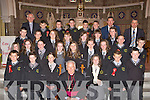 Gaelscoil Aogain Castleisland pupils at their confirmation in St Stephen's and John's Church Castleisland on Wednesday