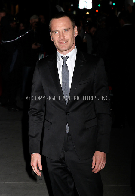 WWW.ACEPIXS.COM . . . . .  ....January 10 2012, New York City....Michael Fassbender arriving at the 2011 National Board of Review Awards gala at Cipriani 42nd Street on January 10, 2012 in New York City.....Please byline: NANCY RIVERA- ACE PICTURES.... *** ***..Ace Pictures, Inc:  ..tel: (212) 243 8787 or (646) 769 0430..e-mail: info@acepixs.com..web: http://www.acepixs.com